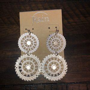 Pretty Silver Earrings